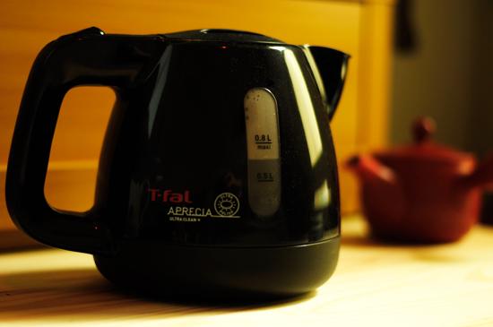 ティファールで淹れる美味しいお茶のいれかた。