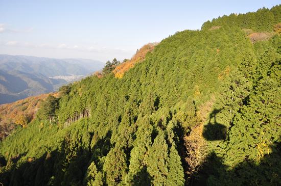 比叡山ロープウェイからの景色