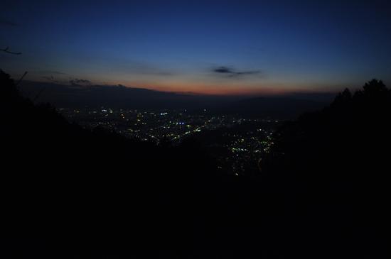 比叡山の夜景