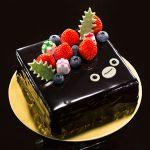 《宇治抹茶使用》スイカペンギンがキュートにクリスマスケーキになりました。