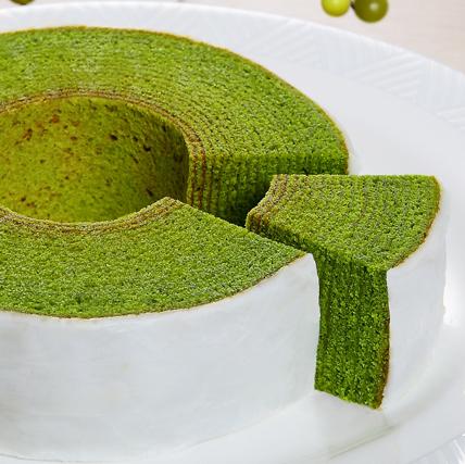 ランキングで一番人気。抹茶のバームクーヘンといえば《CHIYOの和》