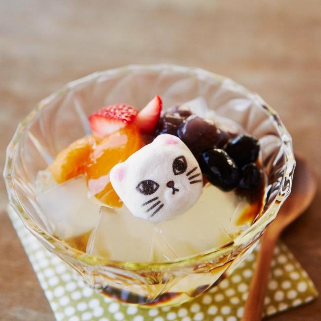 ミニ和風ニャシュマロ(猫ほうずい)の会