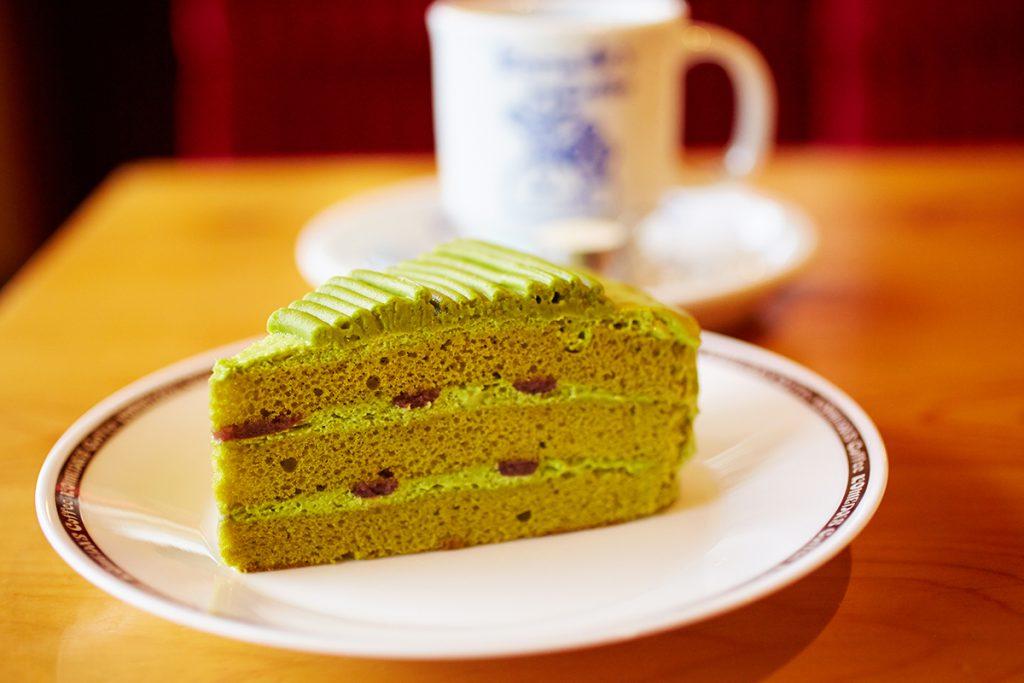 抹茶ケーキ