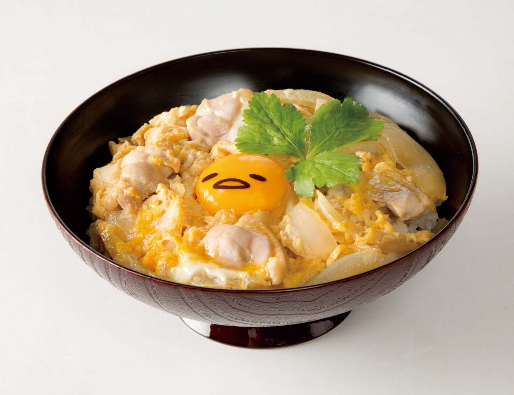 ぐでたまかふぇ京都:親子かも丼