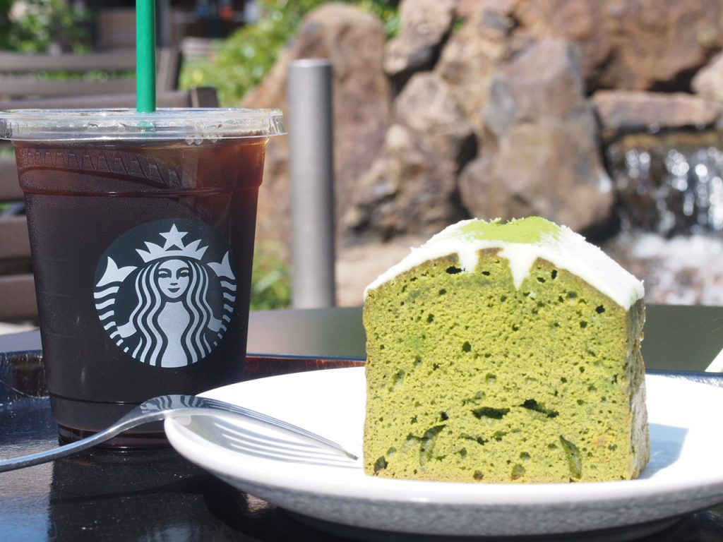 Coffee & Espresso ケーキ 抹茶