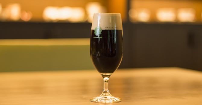 ほうじ茶黒ビール