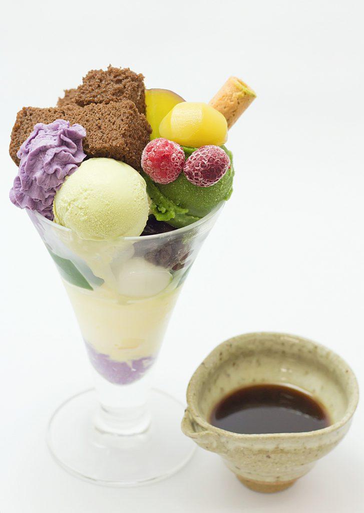 茶寮都路里抹茶パフェ大丸東京店