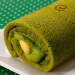 抹茶ロールケーキ | 京都土産の定番、マールブランシュから新商品登場