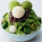 抹茶かき氷 | ひんやりスイーツフェア大丸東京店