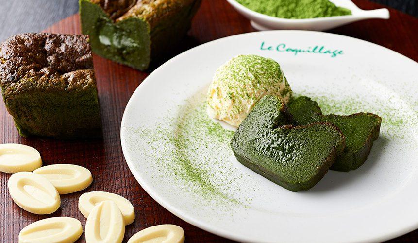 フレンチレストランが贈るプレミアムスイーツ 神楽坂テリーヌドゥショコラオ抹茶