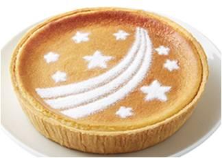 七夕デンマーククリームチーズケーキ