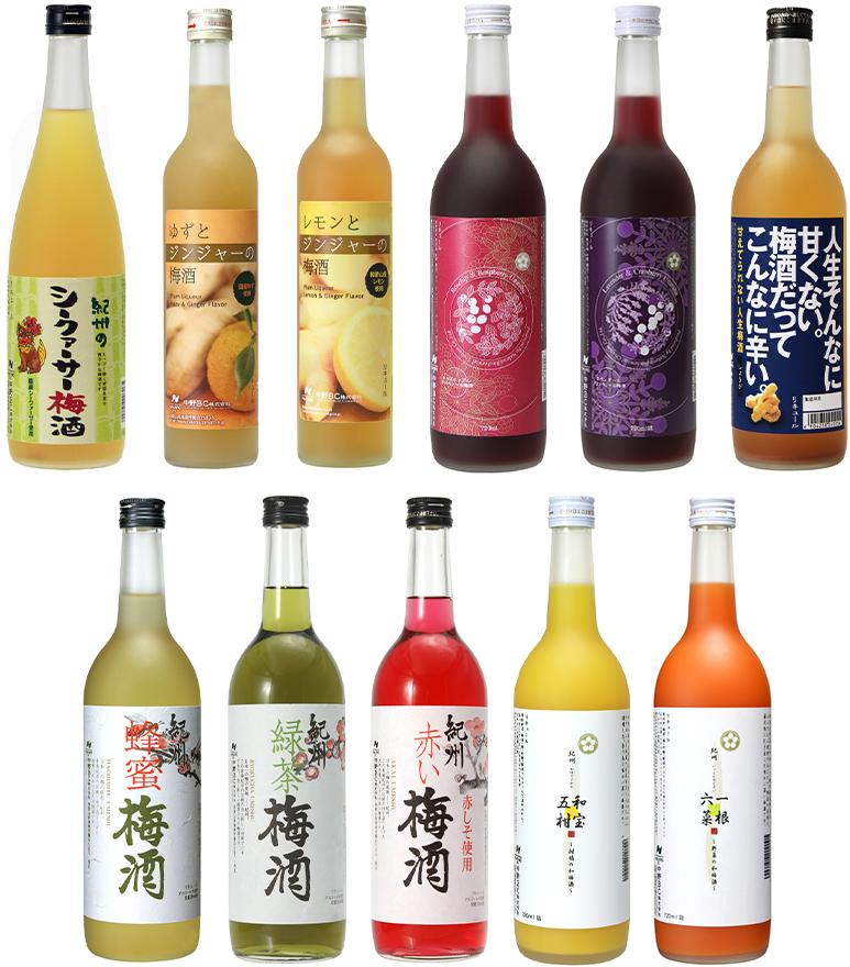 中野BC 果実酒 各種