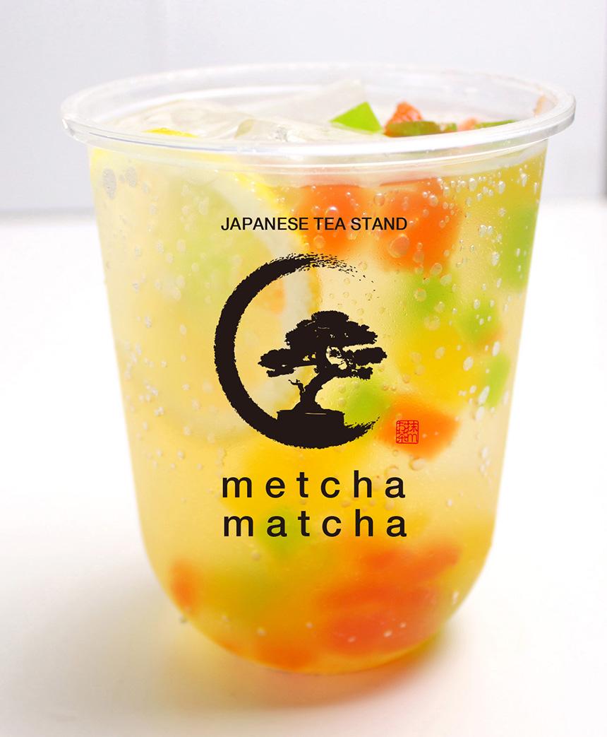 緑茶ピーチティー¥500
