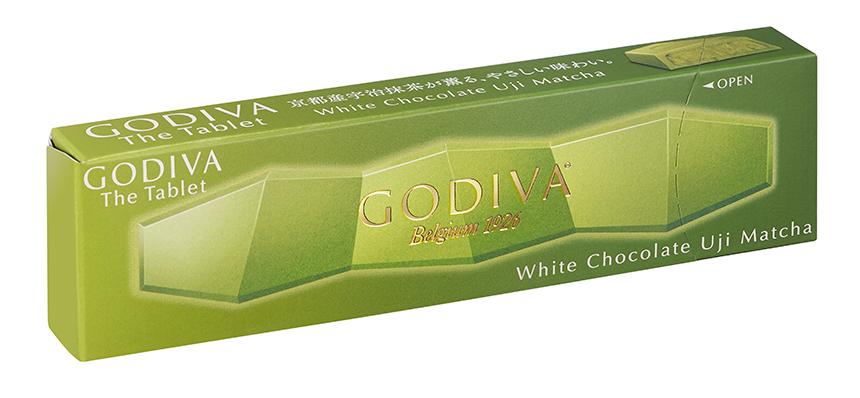 ゴディバ ザ タブレット ホワイトチョコレート 宇治抹茶