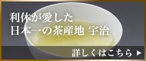 利休が愛した日本一の茶産地、宇治。
