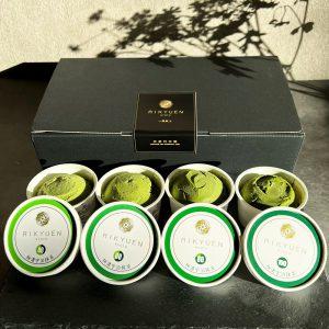 はんなりまったり4段階の宇治抹茶アイス 合計8個入り item-ice-matcha4set